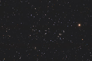 Abell 2151 - the Hercules Cluster of Galaxies