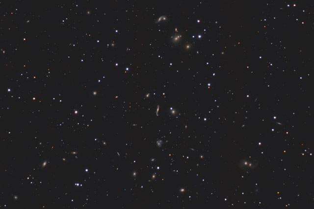 Abell 2151 - Crop Version of the Hercules Cluster of Galaxies
