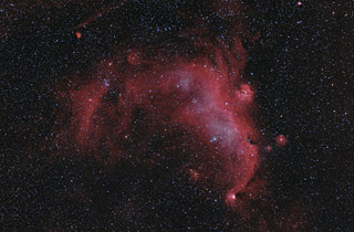 IC 2177 - the Seagull Nebula in HaOIIIRGB