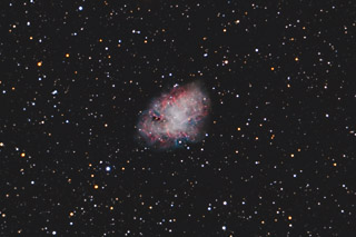 M1 - the Crab Nebula in Taurus - December 2011 version