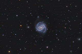 M100 - A Grand Design Spiral Galaxy in Coma Berenices