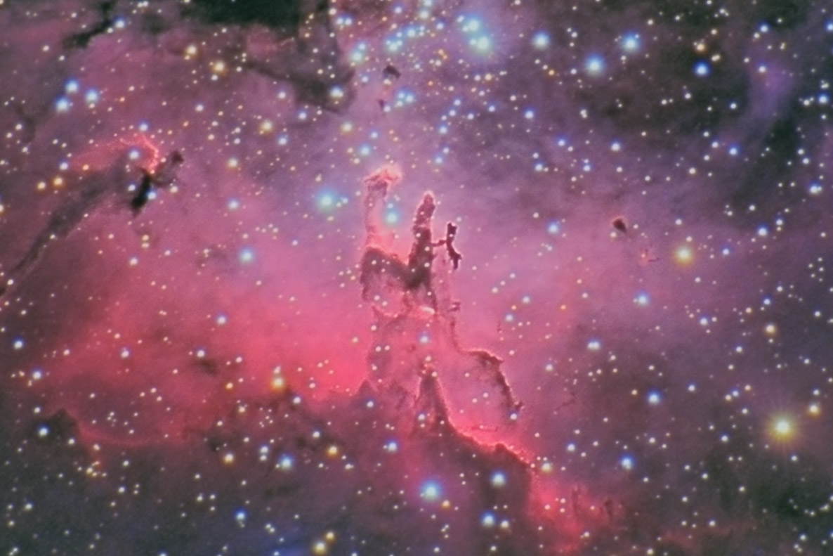 Astronomers Do It In The Dark - M16\'s Pillars of Creation ...