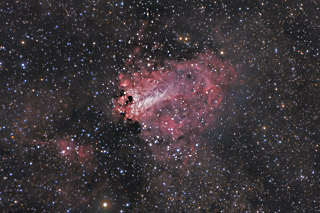 M17 - The Omega Nebula in Sagittarius