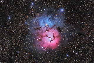 M20 - The Trifid Nebula in Sagittarius