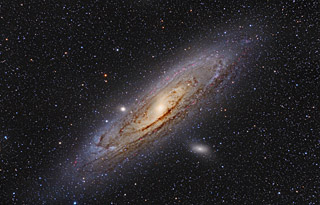 M31 - The Andromeda Galaxy in HaRGB