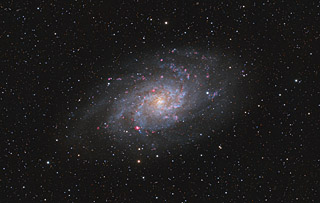 M33 - The Triangulum Galaxy - 2015 version