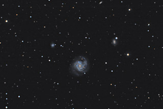 M61 - The Swelling Spiral Galaxy in Virgo