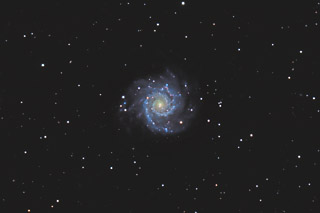 M74 - the Grand Design Spiral Galaxy in Pisces