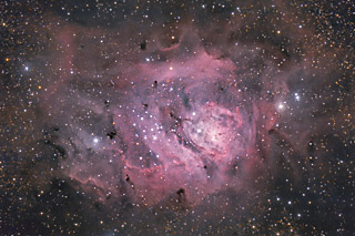 M8 - The Lagoon Nebula in Sagittarius