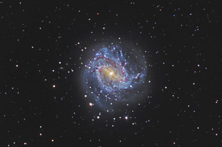 M83 - The Southern Pinwheel Galaxy in Hydra