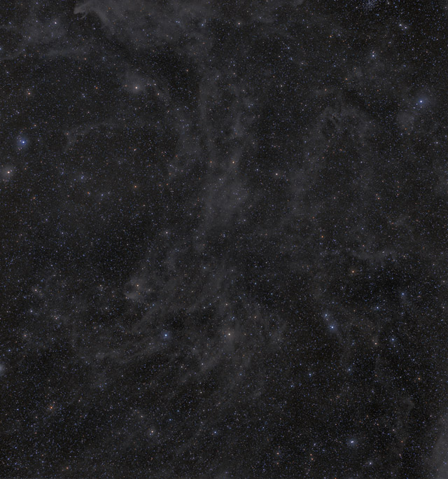 MW7 - The Cow Nebula Section of the IFN
