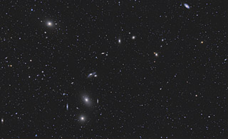 Markarian's Chain Plus 600 Galaxies in the Virgo Cluster