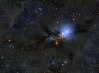 NGC 1333 - A Stellar Nursery in Perseus (QSI Version)
