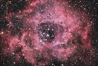 NGC 2237 - The Rosette Nebula in Monoceros