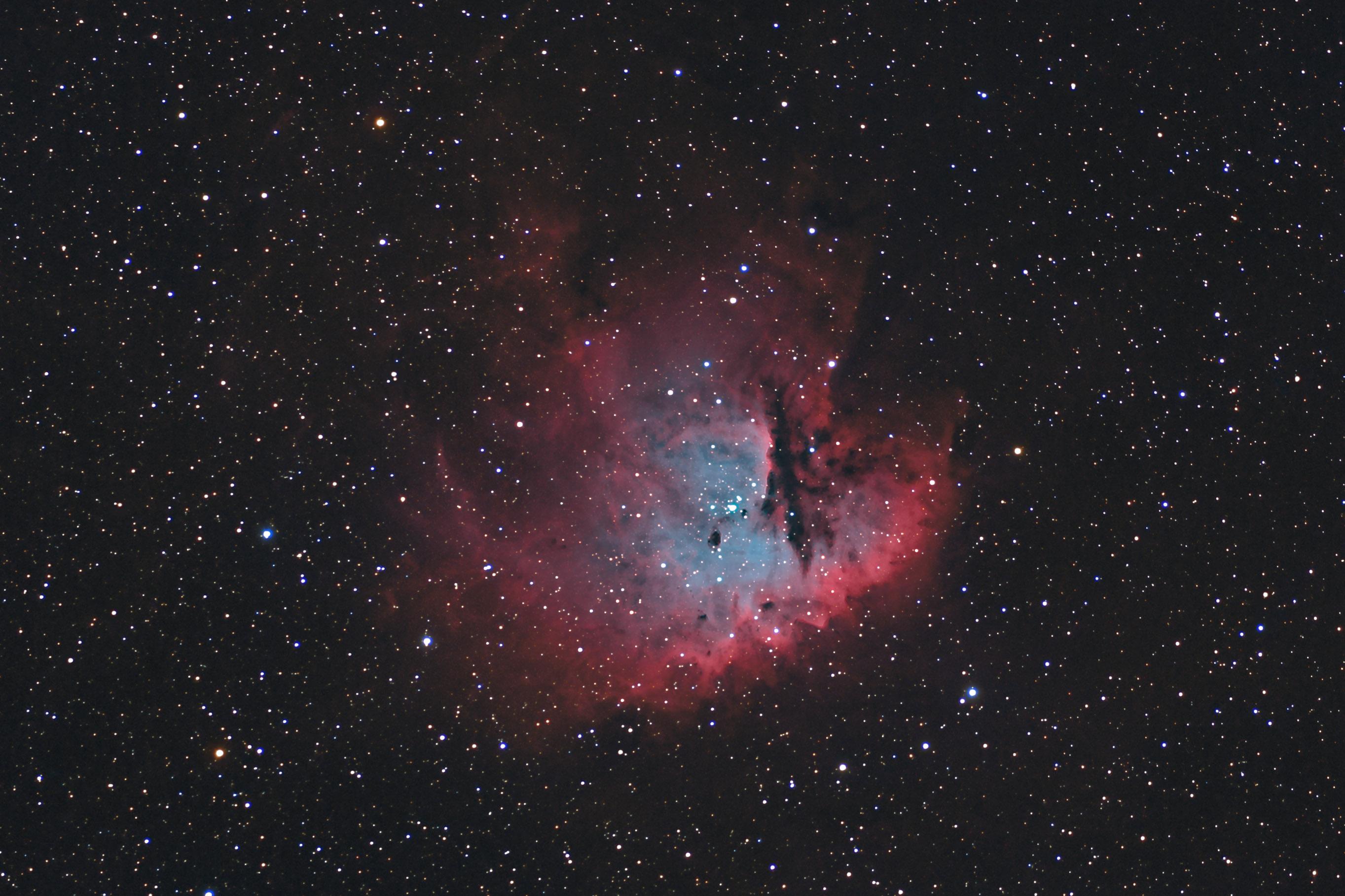 pacman nebula - photo #35