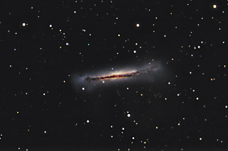 SUPERCEDED-NEWER VERSION AVAILABLE---NGC 3628 - the 3rd Galaxy in the Leo Triplet
