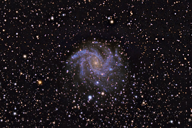 SUPERCEDED-NEWER VERSION AVAILABLE---NGC 6946 - The Fireworks Galaxy on the Border of  Cepheus...