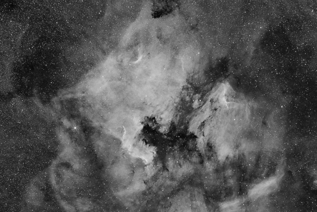 The North American and Pelican Nebulae in Hydrogen Alpha