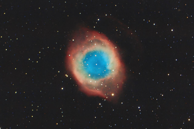 Astronomers Do It In The Dark - The Helix Nebula - A ...