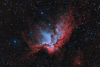 NGC 7380 - the Wizard Nebula in HaOiiiLRGB