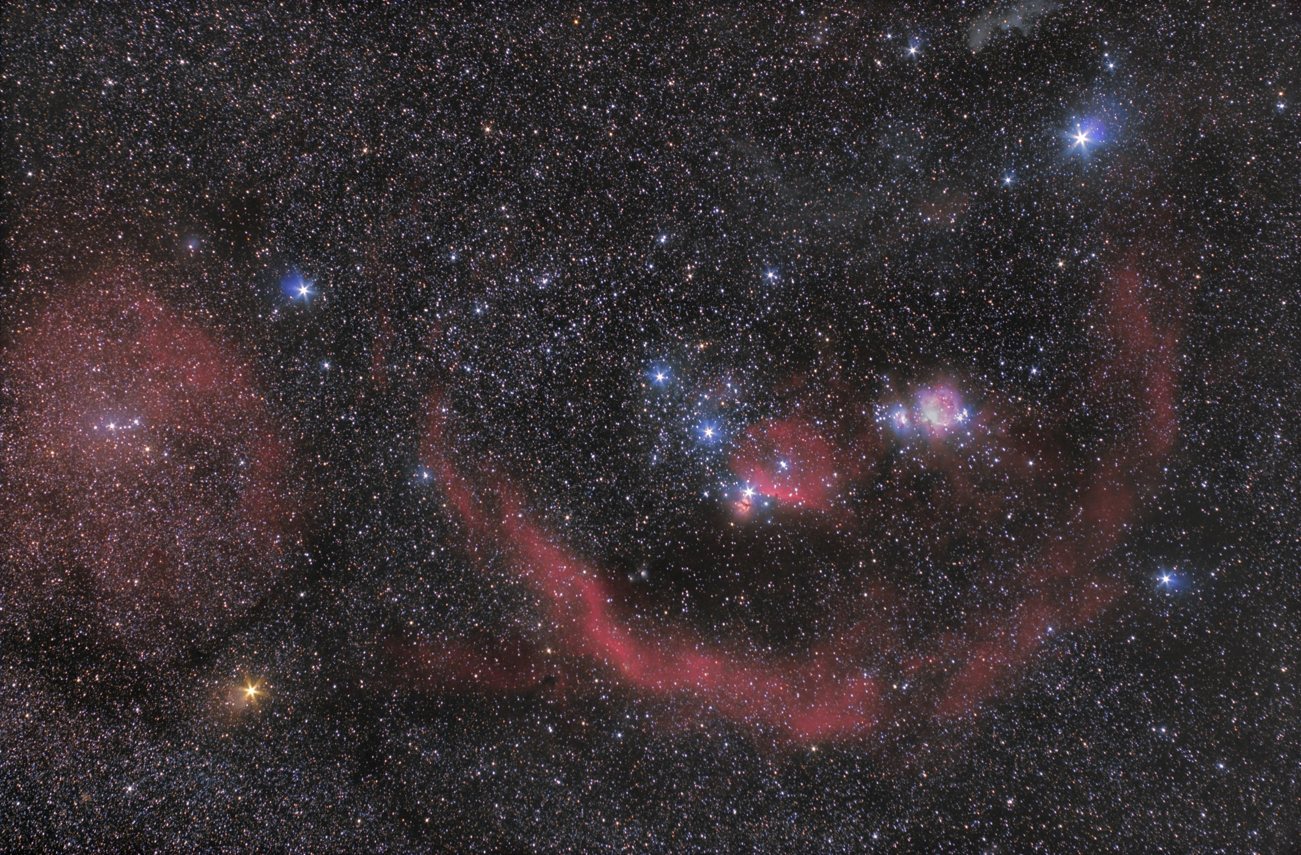 astronomers do it in the dark the constellation of orion the
