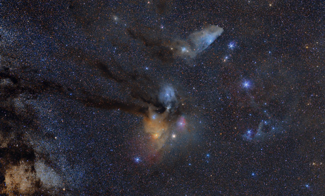 25 degrees of the Rho Ophiuchi Cloud Complex