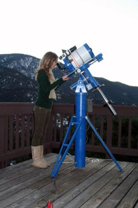 Valerie and Scott's Celestron Telescope